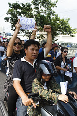 20140524-anti coup day 2-5 (Sora_Wong69) Tags: thailand bangkok military protest soldiers anti activist politic coupdetat martiallaw