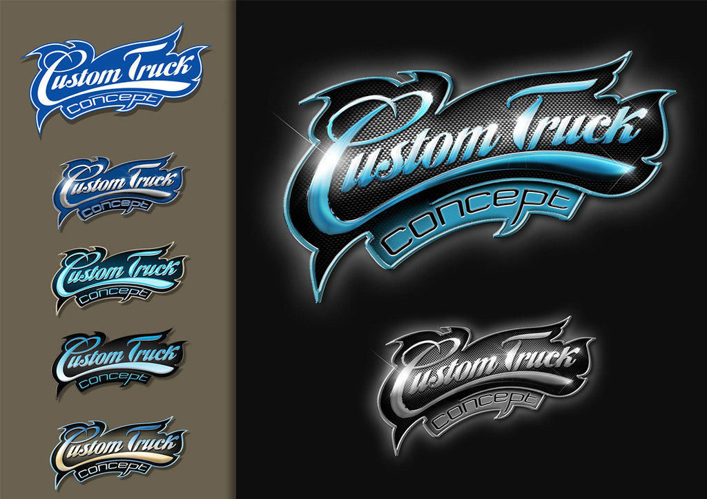 how to make a custom logo on photoshop