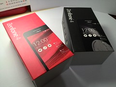 Asus Zenfone 4 - Black and Red