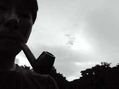 me with savinelli (isolation and isolated standard art.) Tags: man masculine manly pipe smoking smoker tobacco pipesmoker virile tobaccopipe