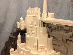 """Final build of epic microscale Minas Tirith for Brickcon 2014 • <a style=""""font-size:0.8em;"""" href=""""https://www.flickr.com/photos/75476563@N08/14432319112/"""" target=""""_blank"""">View on Flickr</a>"""