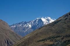 Peru - Ollantaytambo (Herculeus.) Tags: snow mountains peru clouds farming valley glaciers farms peaks ollantaytambo 2014 mayjune 5photosaday perubolivia14