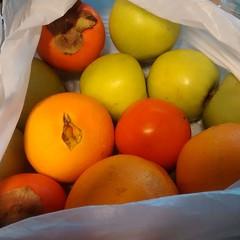 Todo este arsenal maravilloso de vitaminas a cambio de un envase (ClauErices) Tags: chile santiago regalitos instagram frutasorgnicas