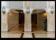 Underneath the Hassan II Mosque, Casablanca (stvjackson) Tags: nikon mosque morocco casablanca hassaniimosque d700 nikond700 nikon2470mmf28