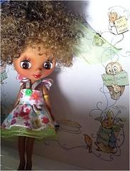 Blythe-a-Day July 2014#24: Beatrix Potter: Lola Remembers...