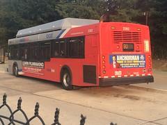 WMATA Metrobus 2001 New Flyer C40LF #2362 (MW Transit Photos) Tags: new flyer wmata metrobus c40lf