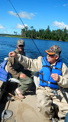 Quesnel Lake Fishing (Jeannette Greaves) Tags: trip fishing manitoba year2 dads sons 2014 hughspic hughtommarcel quesnellakecariboulodge dennyderrick jimrick louisjeff