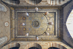 Ceiling of the Madrassa of Sultan al-Zahir Barquq - Qalawun complex