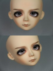 48th - Bluefairy Gus (tityteeee) Tags: doll fairy tiny bjd gus commission bluefairy faceup