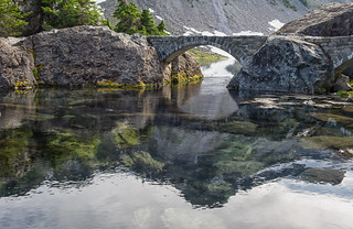 Bridge over Bagley Lakes