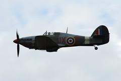 PZ865. Hawker Hurricane RAF BBMF (Ayronautica) Tags: aviation military hurricane july airshow duxford 2008 warbird raf hawker royalairforce battleofbritainmemorialflight bbmf egsu pz865 lastofthemany hawkerhurricaneiic ayronautica