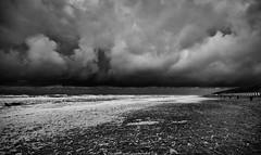 stormy at the beach (explore) (robvanderwaal) Tags: sea sky bw cloud seascape storm beach netherlands rain clouds strand golf shower blackwhite waves zwartwit nederland wolken wave stormy explore regen texel bui zw wolk 2014 golven rvdwaal robvanderwaalphotographycom