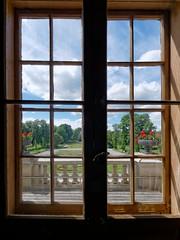 View to the garden 2 (Laszlo#13) Tags: window sweden tonemapped nynasslott