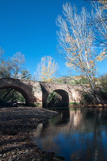 Puente Mayor de Isso sobre el río Mundo./ Isso Largest Bridge over