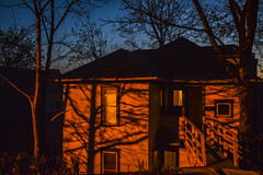 Contrast (M$ingh.) Tags: street ohio house abandoned nature colors evening nikon dusk streetphotography athens haunted spooky d7100 nikond7100