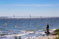 what is love? baby dont hurt me (Patrick Stelmach) Tags: bridge baby lake love me canon island is hurt couple view patrick kisses tourist upper dont what hugs peninsula mackinaw haddaway yourist stelmach 60d