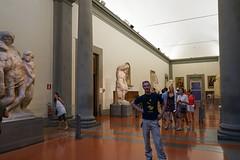 @Galleria dell'Accademia (tesKing (Italy)) Tags: italy me florence italia io firenze toscana galleriadellaccademia