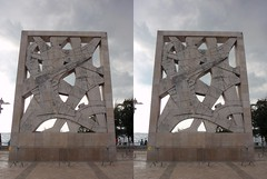 Redemption Panel (Viktor_Bublic) Tags: summer sky stone stereoscopic crosseyed day croatia stereo rovigno rovinj adriatic istria hrvatska stereoscopy istra 2014 kroatien mediterranian xeyes crossview xview xeyed