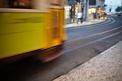 speed (M.Pat) Tags: speed lisboa lisbon tram tramway lisbonne vitesse nikond700