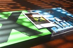 side by side (desireediazphotos) Tags: light music film ed polaroid moments fuji album cd memories x blinds instax multiply sheeran 5sos