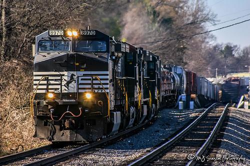 NS 8970 | GE C40-9W | NS Memphis District