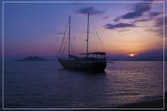 E5327 Arkadaslik (Arkadaslik Yachting) Tags: gulet boat smallship woodboat turkey sunset travel beach mediterranean sea water sky silhouette mediterraneansea nikon bluecruise bluevoyage turquoisecoast