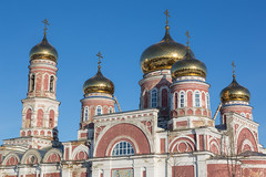 The Church of the Ascension. (Oleg.A) Tags: spring penzaregion russia church nature frost outdoor rural villiage snow morning orthodox cathedral architecture dome bell landscape spassk winter catedral landscapes outdoors penzenskayaoblast ru