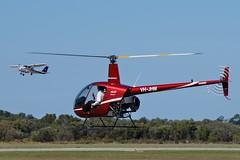 VH-JHM Robinson R22 Beta 11 (johnedmond) Tags: perth ypjt australia jandakot jad robinson r22 helicopter chopper aviation aircraft aeroplane airplane sel55210 55210mm sony