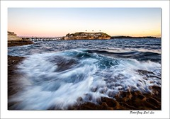 Wave wings (jongsoolee5610) Tags: seascape laperouse sydneyseascape sydney australia bareisland sunset sydneysunset wave canonflickraward