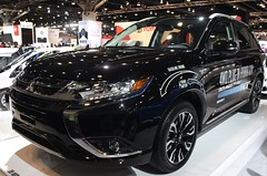 2017 Mitsubishi Outlander PHEV (D70) Tags: mitsubishi outlander phev the is midsize crossover manufactured by japanese automaker 2017 vancouver international auto show