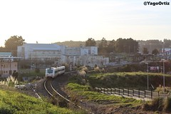 Algo es algo... (yagoortiz) Tags: tren trd 594012 elviña renfe 594 reformado aerodinamico galicia coruña