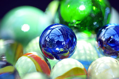 Glaze (RK Smith) Tags: macromonday glaze marbles shine round colours sphere reflections bokeh glazed