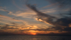 Florida Gulf Sunset (Parkguy (David Legg)) Tags: gulfofmexico seascape tarponsprings sunset sunsetbeach florida