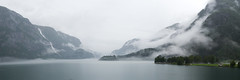 Morning Mist in Odda (antoinemabire) Tags: landscape mist nature water norway norvège fjord cloud panorama paysage travel road trip fog waterfall
