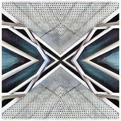 Crossroads - created on iPhone 7 (Jeroen Noot) Tags: instagramapp square squareformat iphoneography uploaded:by=instagram iphone7 symmetrical geometrical prisma snapseed layout bsquare