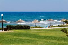 Relax (Oleksandr Reva) Tags: 2012 agkisaras crete greece hersonissos mediterraneansea sea summer coastline