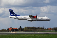 OY-JZC 2017-04 SK AT76 Cph (Danner Poulsen) Tags: 20170418 oyjzc 201704 sk at76 cph jettime scandinavian airlines atr atr72600 april 2017 englodsvej ekch