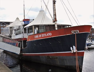 Earl of Zetland - Floating Restaurant - Royal Quays