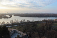 View towards the Sava-Danube junction from the Kalemegdan fortress, Beograd (Timon91) Tags: serbia servië serbien srbija srbije србија србије beograd belgrado belgrade београд