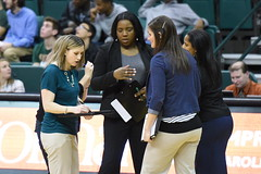 WBasketball-vs-North Texas, 1/26, Chris Crews, DSC_5149 (PsychoticWolf) Tags: 49ers basketball charlotte cusa d1 green mean ncaa ninermedia north nt texas unc uncc unt womens
