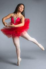 Taylor Ballet (loserfilms) Tags: lovington nm dancing dance d800 nikon portrait teen tutu red dress