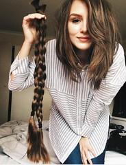 yghb_after (Kenty Hairfert) Tags: longhair longhaircut haircut shorthair longtoshort thickponytail braid shave bald hairdonation hairstyles blonde brunette makeover rapunzel