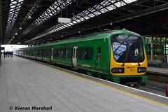 29017+29012 at Connolly, 22/4/17 (hurricanemk1c) Tags: railways railway train trains irish rail irishrail iarnród éireann iarnródéireann 2017 class29000 caf commuter dublin connolly 29017