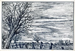 My black and white days (1) (Keith Pharo) Tags: pen ink drawing art hobby pastime keith pharo uk black white