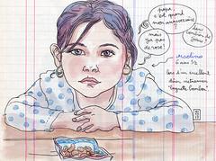 maeline (lapin barcelona) Tags: sketchbook illustration croquis bzh urbansketchers