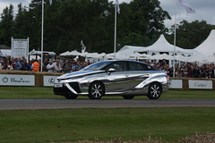 Toyota Mirai 2016, First Glance, Goodwood Festival of Speed (2) (f1jherbert) Tags: sonyalpha65 alpha65 sonyalpha sonya65 sony alpha 65 a65 goodwoodfestivalofspeed gfos fos festivalofspeed goodwoodfestivalofspeed2016 goodwood festival speed 2016 goodwoodengland michelinsupercarrungoodwoodfestivalofspeed michelinsupercarrungoodwood michelinsupercarrun michelin supercar run england uk gb united kingdom great britain unitedkingdom greatbritain