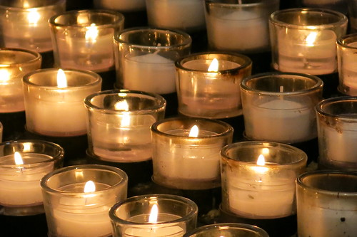 National Cathedral ~ votive candles