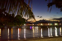 Romance at the Maratua Island 🌴🌿🐢💙 #maratuaisland #beachchallets #nite #sunset #romance (rsys) Tags: maratuaisland beachchallets nite sunset romance
