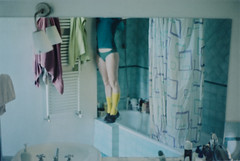 untitled by Erika Pellicci - You love me like I was an object to be used. I'm part of your decor. Minolta XG2, lomography film color