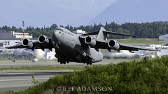 U.S. Air Force (colombian907) Tags: anc panc anchorage alaska airport planespotting usaf 077174 c17 departure worldteamaviationphotography